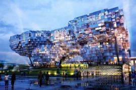 近未来建築!近い将来こんな建物が周りにできるかもしれません!