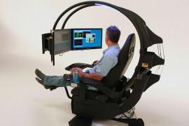 家庭の椅子もこうなる?近未来のSFっぽい椅子♪